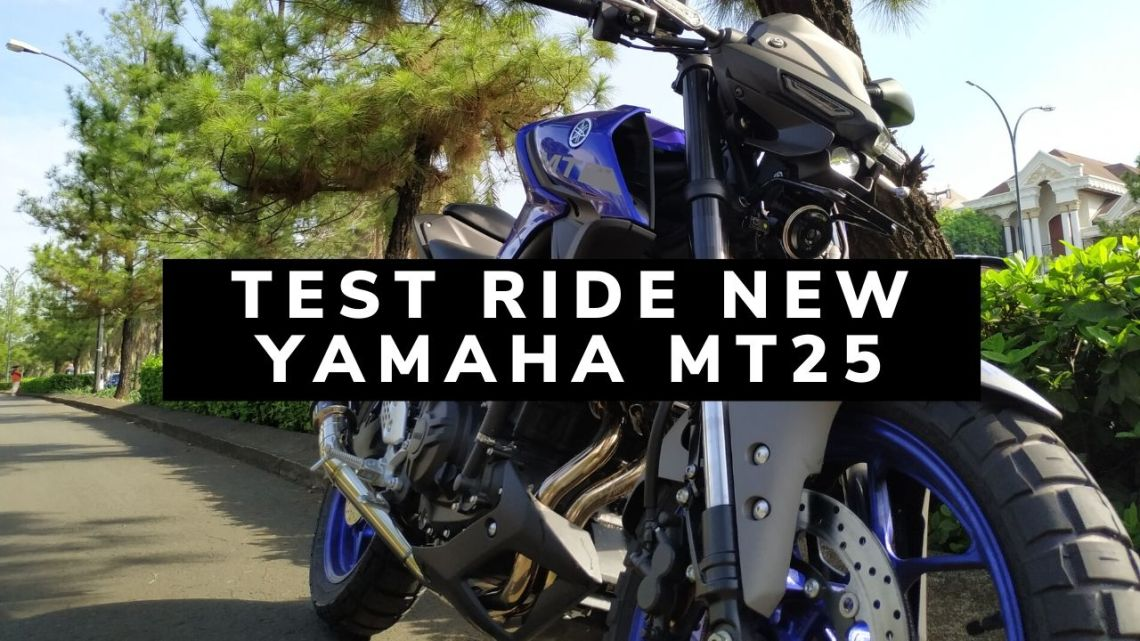 Test Ride New Yamaha MT25: Suspensi Depan USD Bikin Handling Lebih Enak!