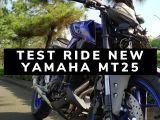 test ride New Yamaha MT25