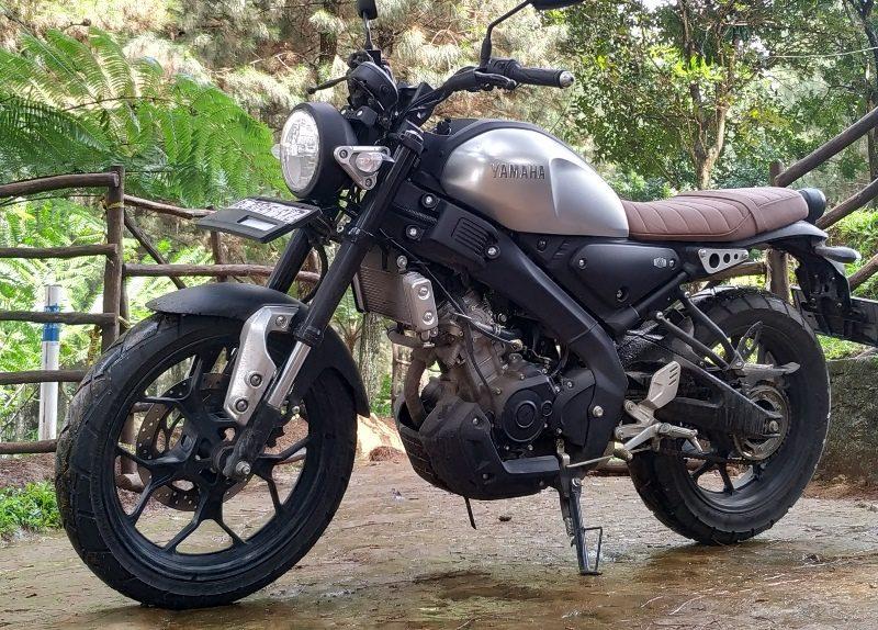 Dipakai Boncengan, Kena Macet, Gaspol, Konsumsi BBM Yamaha XSR 155 Boros Atau Irit?