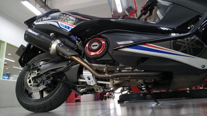 Lihat Langsung Proses Recall Standar Tengah Yamaha TMAX