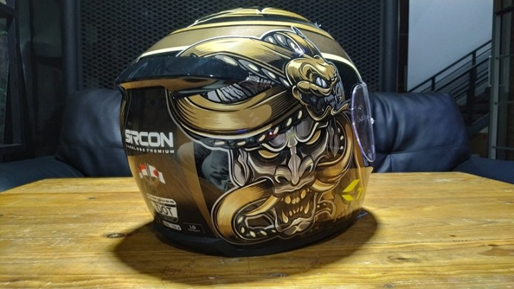 Mau Helm Full Face Keren Gratis? Yuk Ikutan Give Away 4 Buah Helm Sircon Taichi!