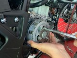 wr155r pasang slipper clutch