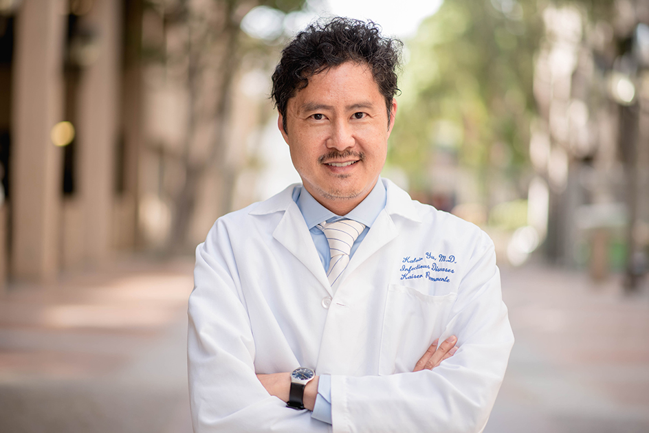 Dr Kalvin Yu Protecting people from the misuse of antibiotics
