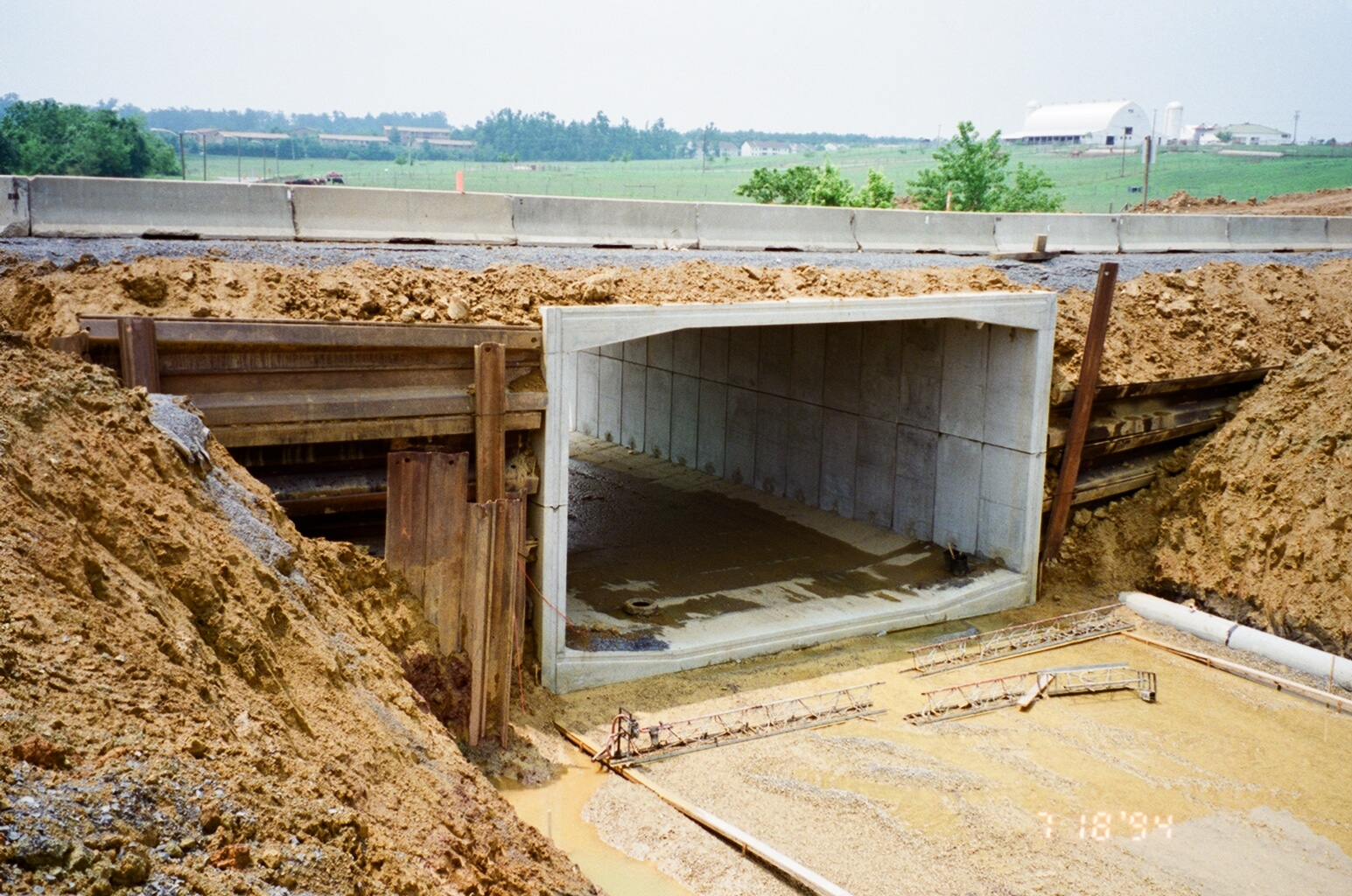 Precast Bridges Two Tunnels Bridges Under U S 460 Permatile Concrete Products