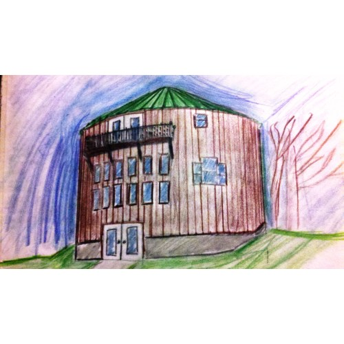 Medium Crop Of Grain Bin House