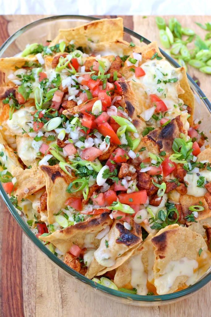 dad's chicken nachos
