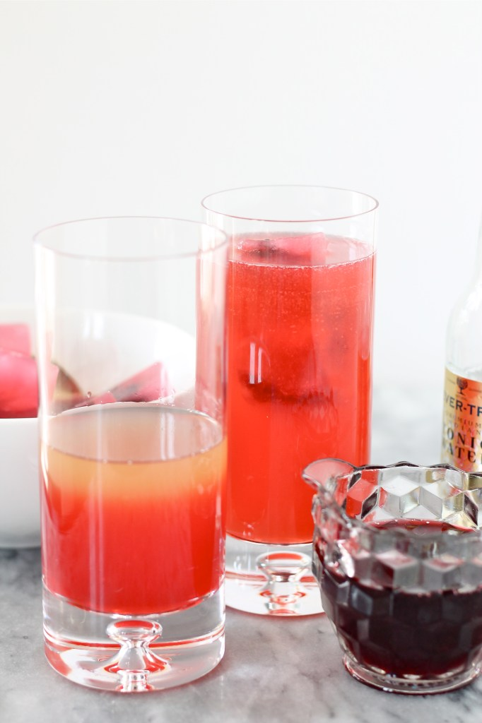 Blackberry Lemonade Cocktail