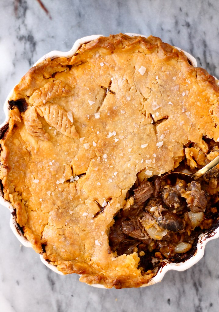 Beef Burgandy Pot Pies