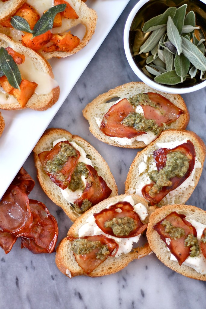 Crostini Two Ways