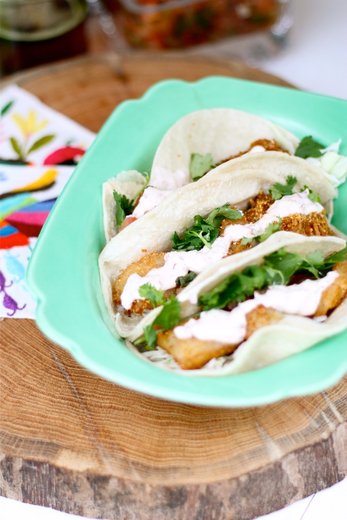 Masa Beer Battered Fish Tacos