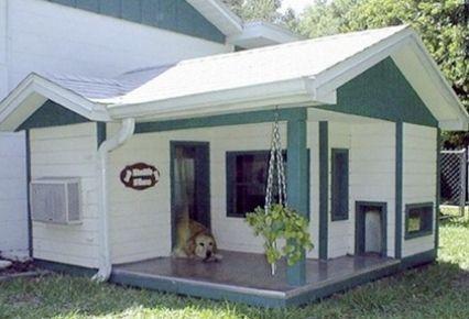 Casa para perros grande y preciosa - Casa de mascotas ...