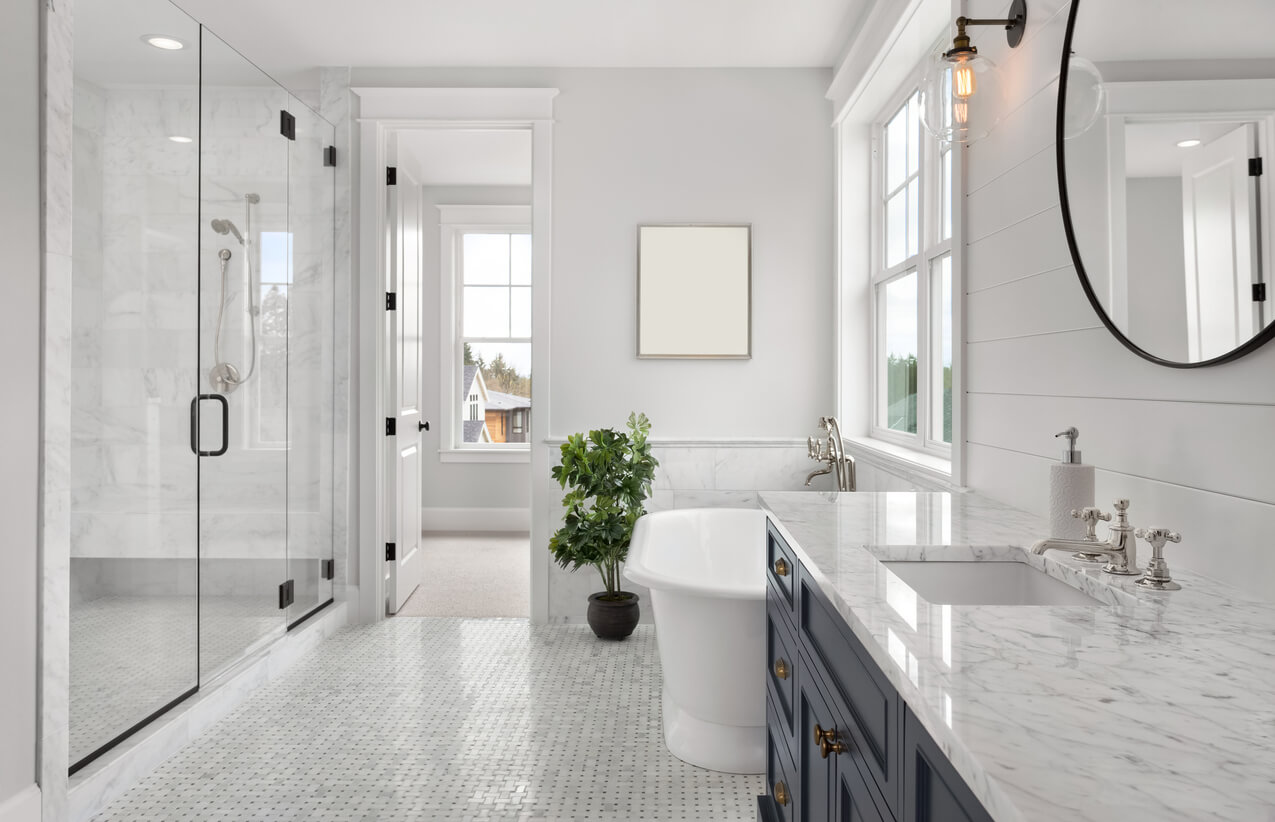 Types Of Shower Doors For A Bathroom Remodel Perryman Painting Remodeling Inc