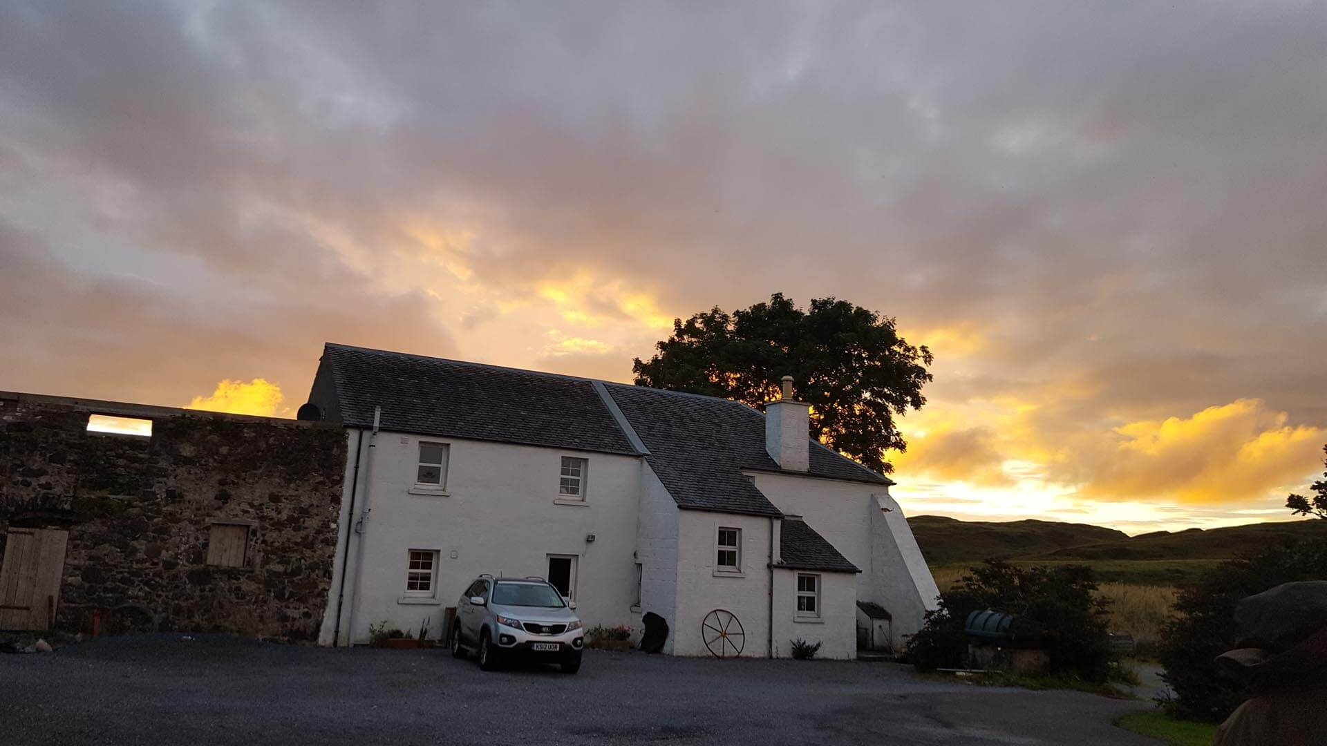 Bed And Breakfast Islay Homepage Persabus Farm