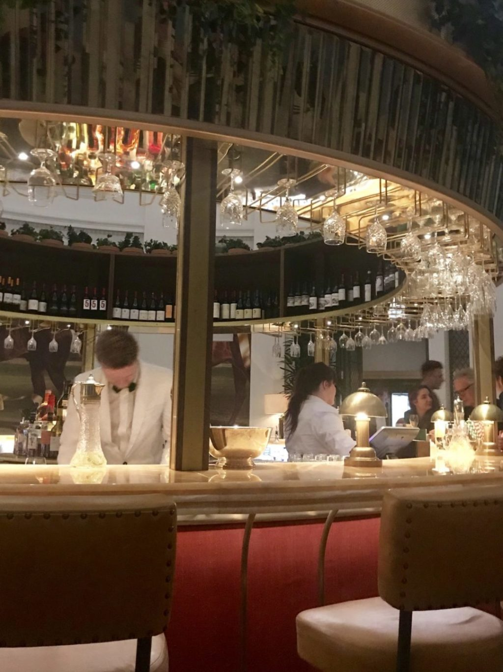 Restaurant Oriental Montpellier Getting A Friday Night Table At The Ivy Montpellier Brasserie