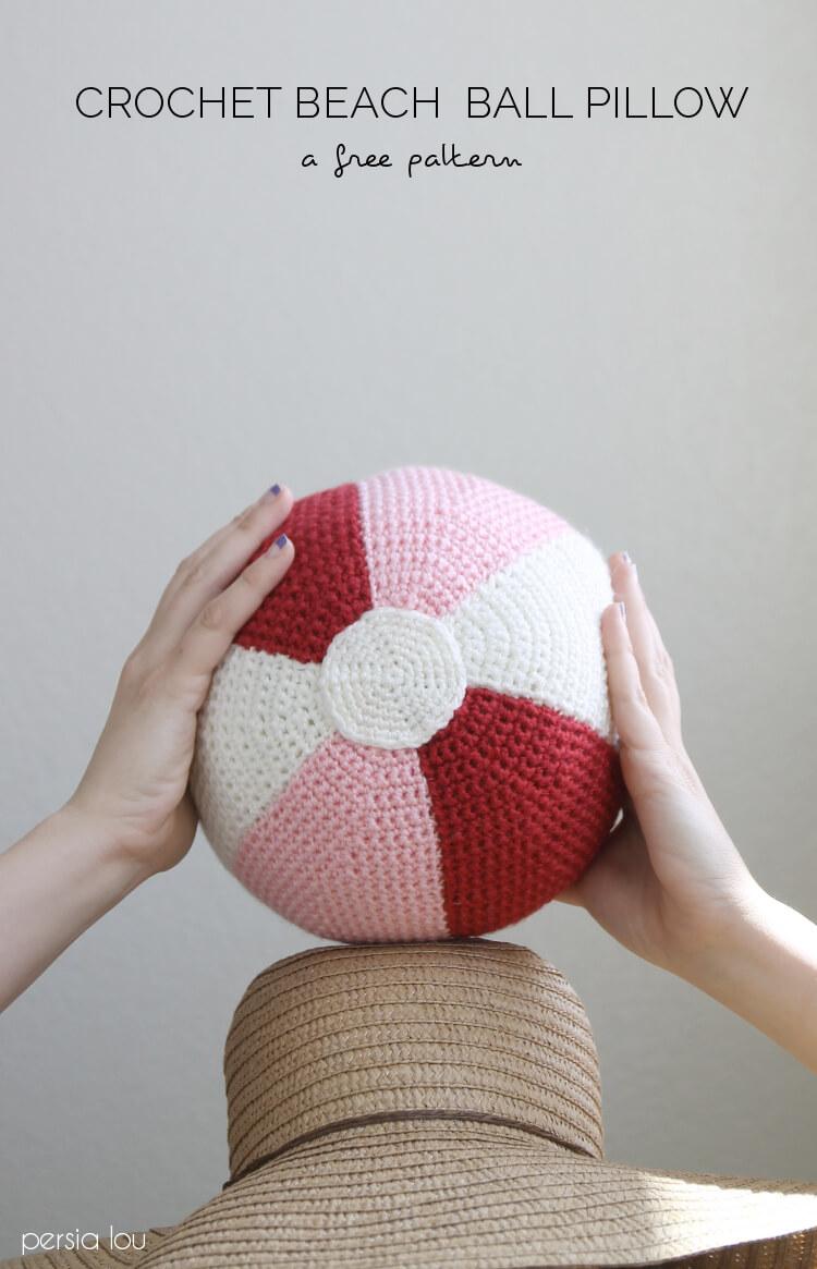 Crochet Amigurumi Ball Pattern : Crochet Beach Ball Pattern