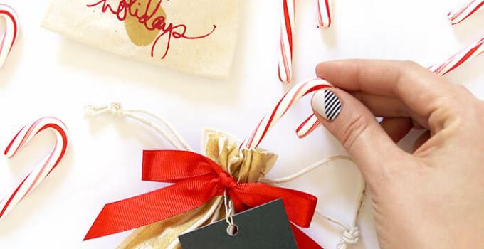 Screen Printed Holiday Gift Bags & Cards