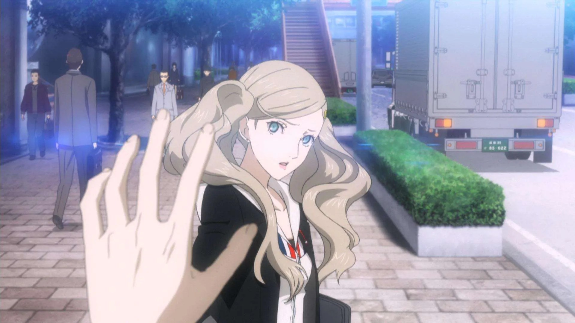 Full Body Girl Wallpaper Pictures From The Persona 5 Pv 02 Trailer Have Leaked