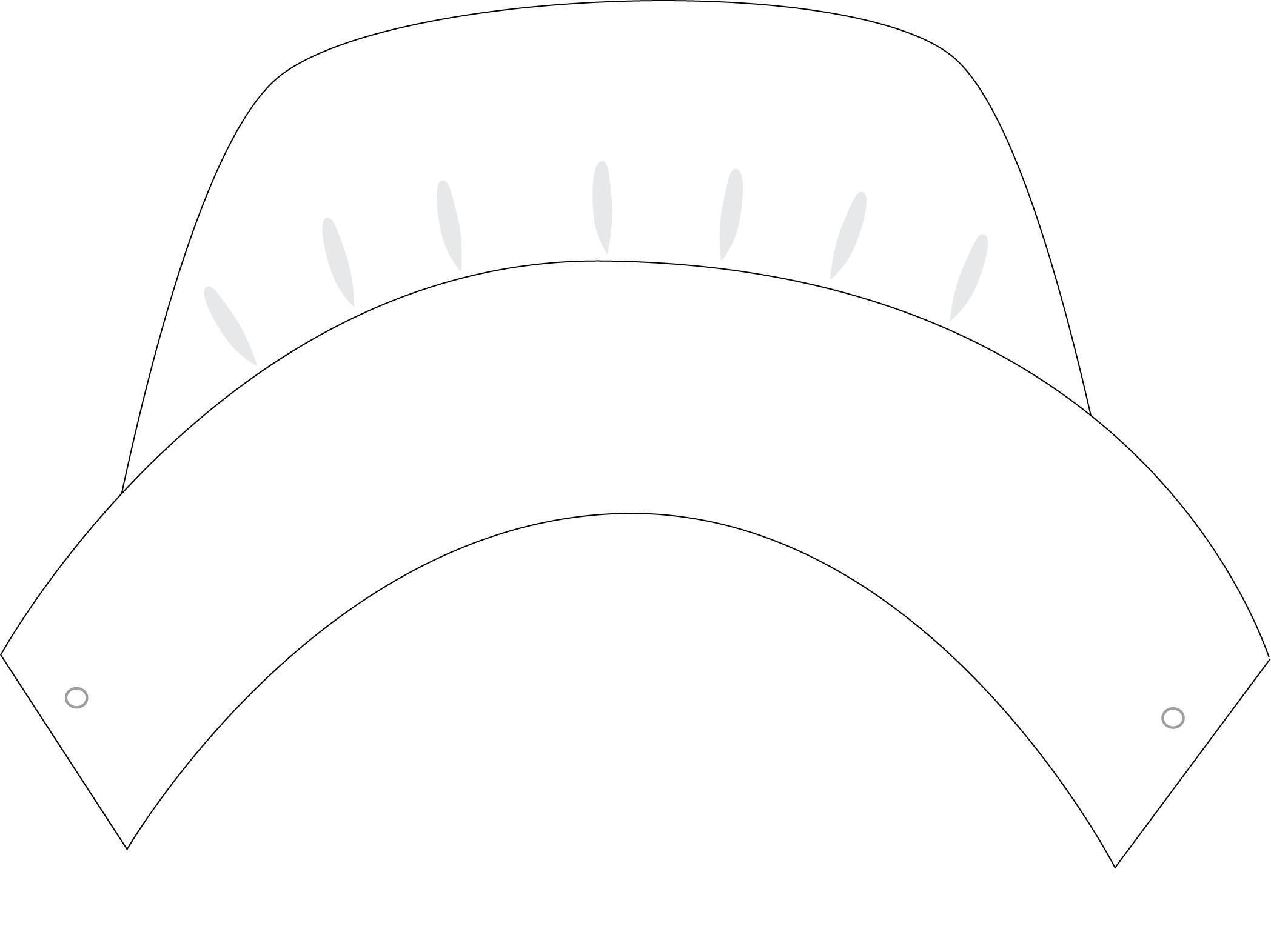 Pilgrim Hat Printable Template Gallery - Template Design Ideas