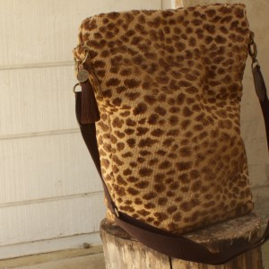 Animal Print Carpet Bag
