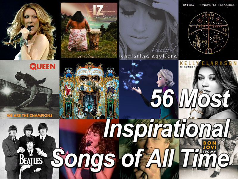 56 Most Inspirational Songs of All Time Personal Excellence