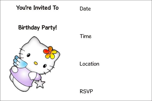 free printable birthday party invitations Archives - - free party invitations templates online