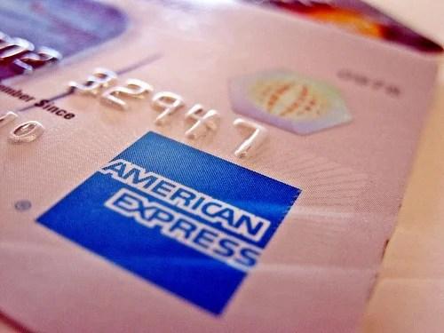 American Express Credit Card Blue