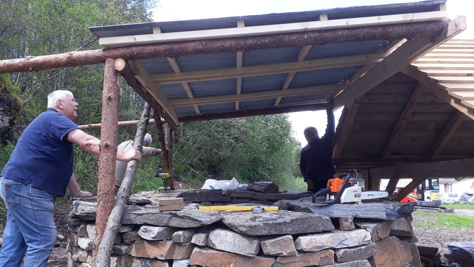 "Hyllestad Test Experimental Archaeology: Building A ""classic"