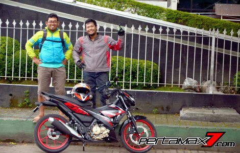 Review Testride All New Suzuki Satria F 150 Injeksi 2016 15 Pertamax7.com