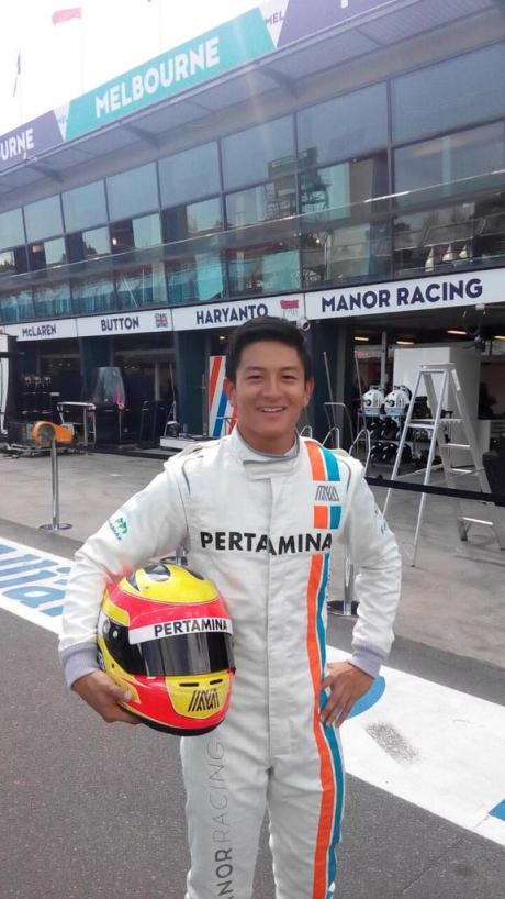 Rio Haryanto Indonesia Formula 1 Manor Racing