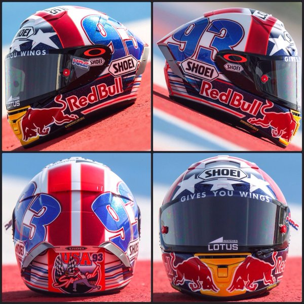pertamax7 com nih helm shoei marc marquez special austin. Black Bedroom Furniture Sets. Home Design Ideas