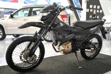 Modifikasi Suzuki Satria F Injeksi Trail Off Road
