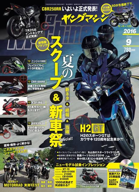 Young Maching All New Honda CBR250RR Twin Cylinder render pertamax7.com