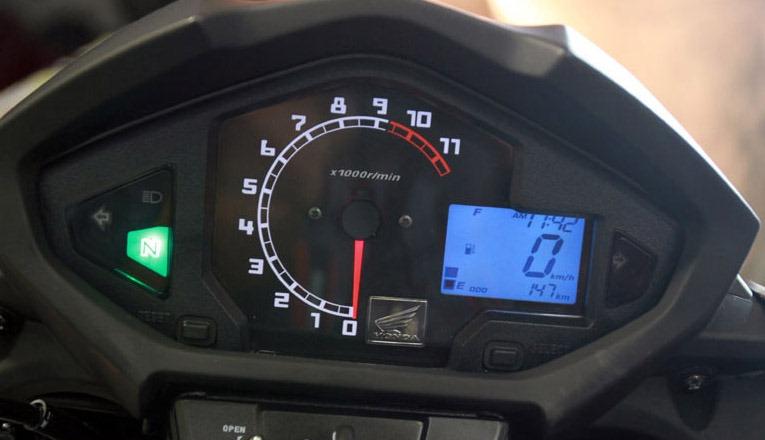 Pertamax7Com Speedometer New Vixion Kombinasi Analog