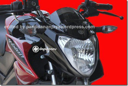 modifikasi headlamp new vixion