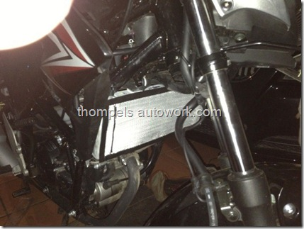 cover radiator honda Cb150r (Small)