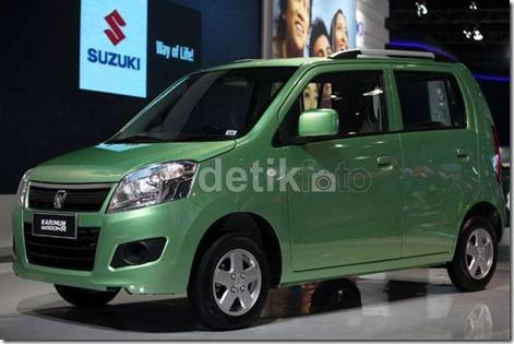 suzuki karimun wagon R green 1