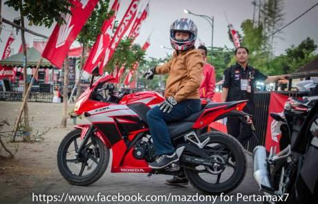 tesdtride all new Honda CBR150R Lokal