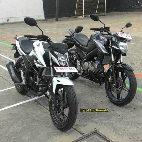 Kala All New Honda CB150R jejer bareng Yamaha New Vixion Advance, KEKAR pertamax7.com