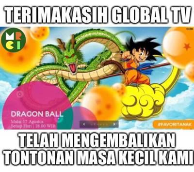 Wuih Per 17 Agustus Dragon Ball Tayang di GlobalTV pertamax7.com