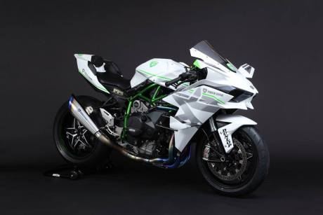 kawasaki ninja H2R trick star racing japan