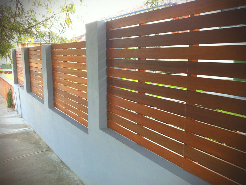 Home Builders Austin Hardwood Timber Screening