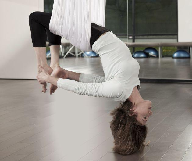 tipos de yoga, Yoga Aéreo