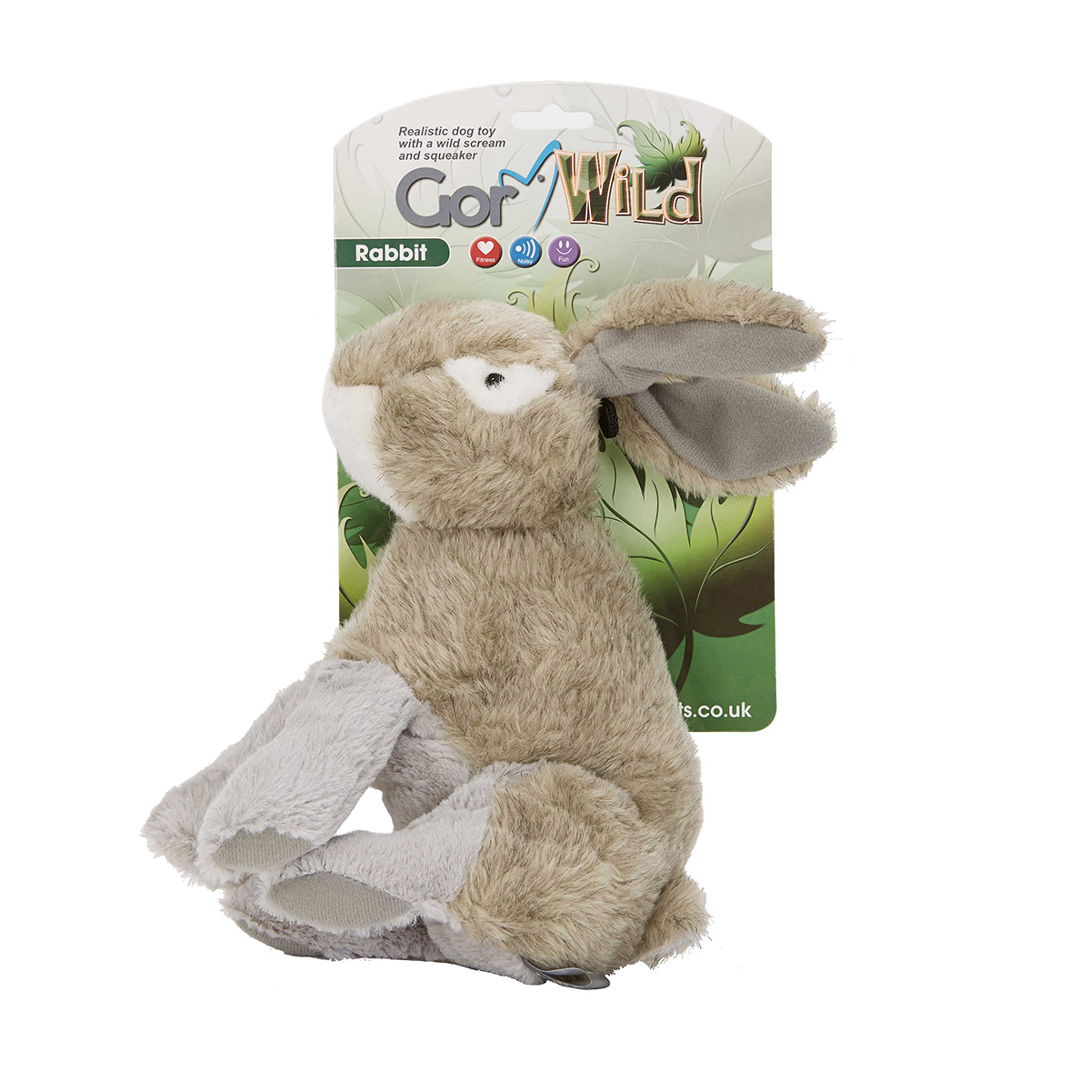 Soft Toy Dog Gor Wild Rabbit Soft Squeaky Dog Toy Pet Positive