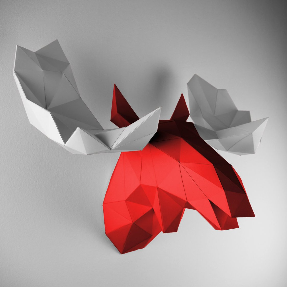 Paper Trophy Red Elk Papertrophy » Petagadget