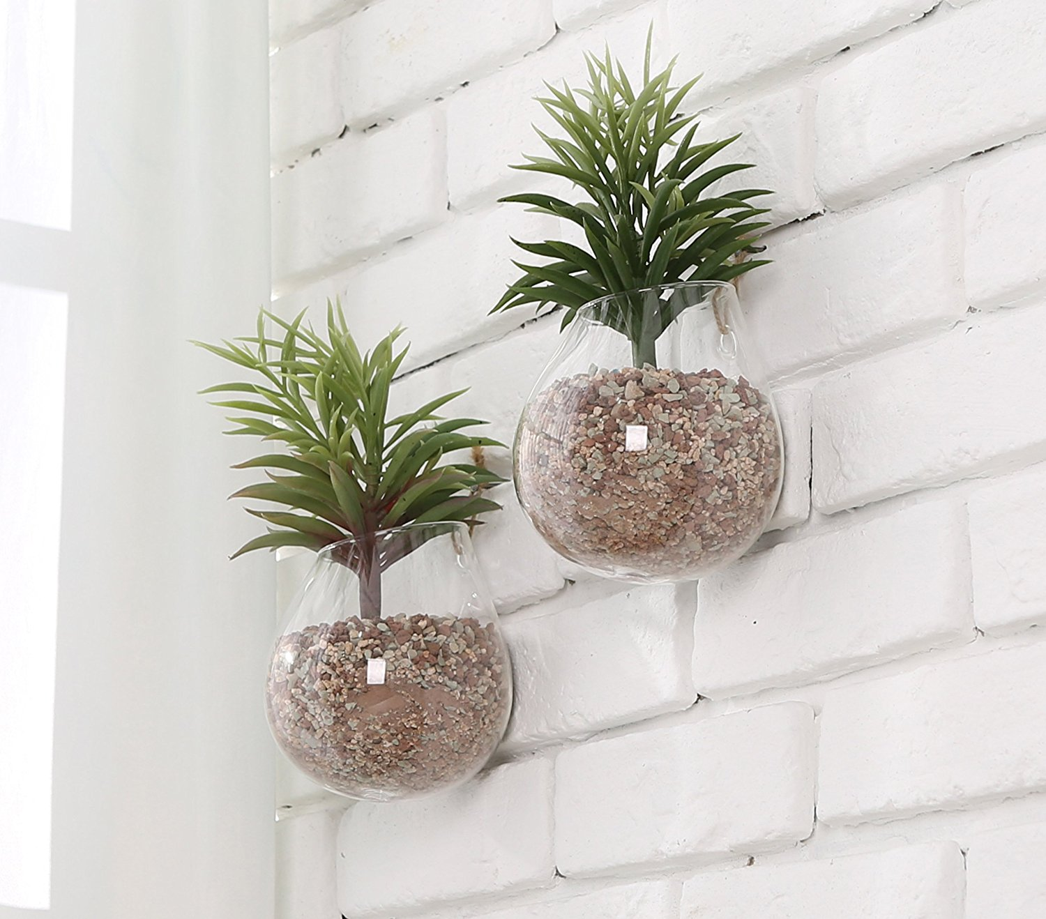 Large Wall Mounted Planters Wall Mounted Hanging Planter Petagadget