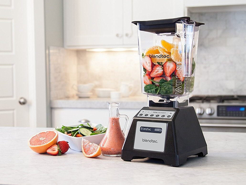 Arteflame Patent Blendtec Total Classic Original Blender With Wildside Jar