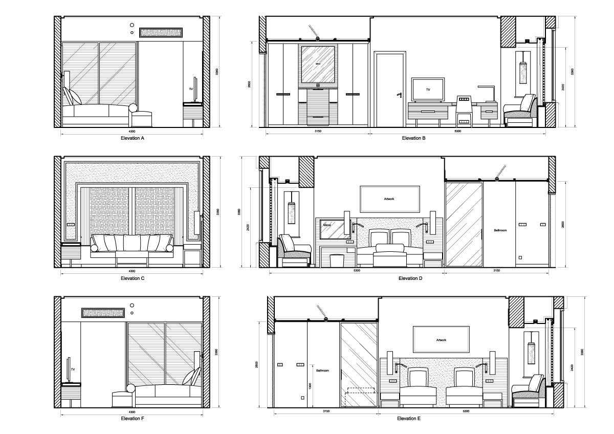 Drawing A Room Plan Elevation Drawing Peta Louise Krog