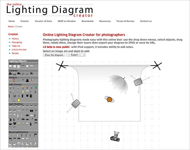 Lighting Diagram Creator Lets You Easily Save and Share Your Light