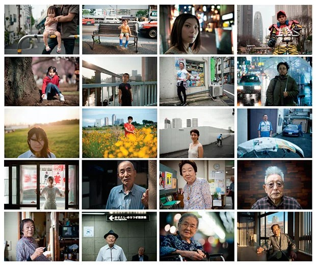 100 Years in Tokyo: Portraits of People in Japan From Ages 0 Through 100 header