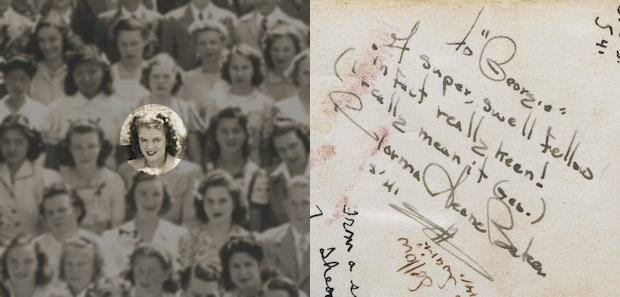 Rare 1941 Class Photo of Marilyn Monroe to be Auctioned Off Next Month monroepic